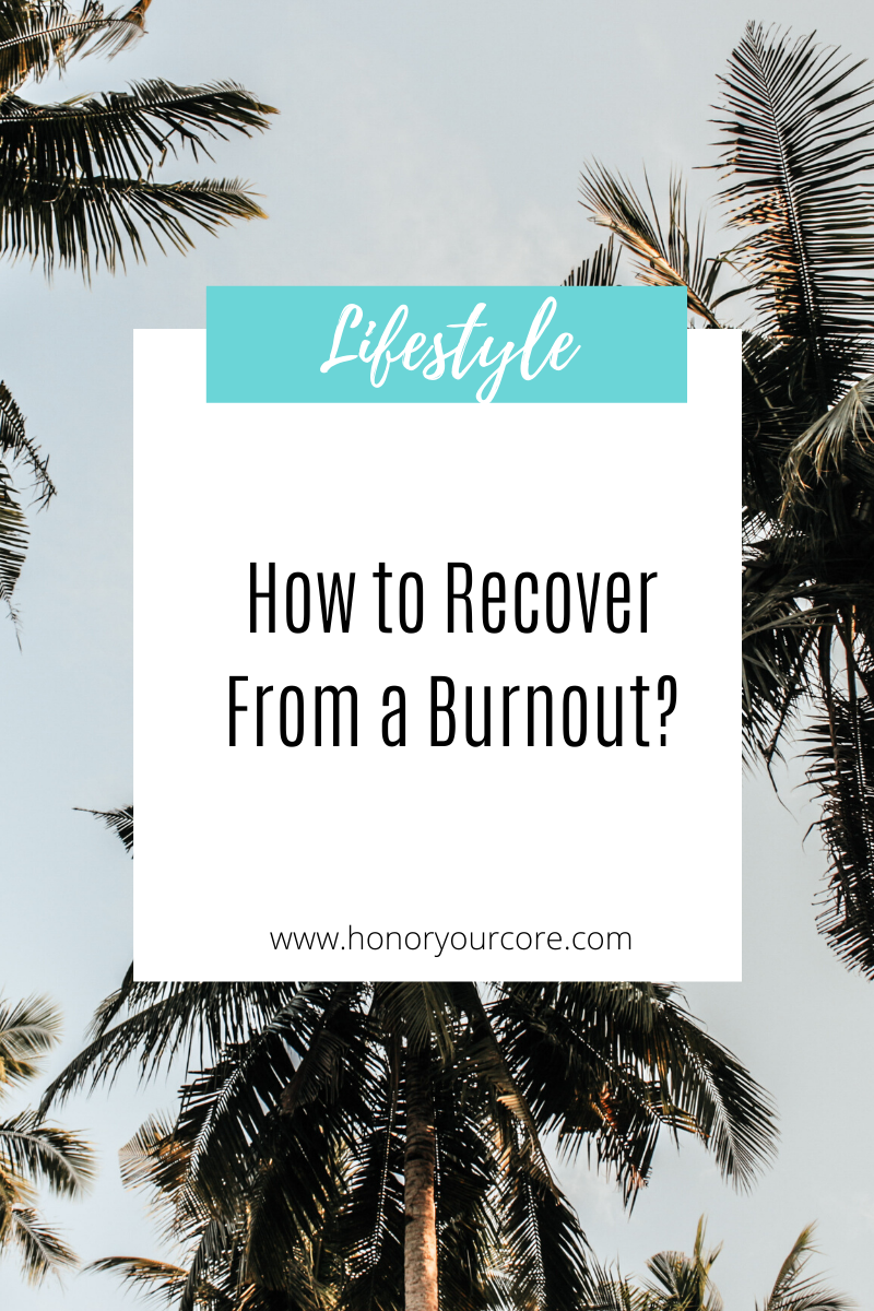 How do you recover from a rut, burnout, or unhappiness?